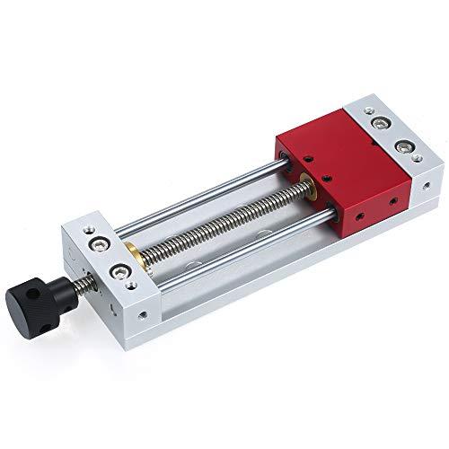 ROEAM Holzschnitzschraubstock Hochpräzisionsschleifmaschine CNC Mini Modellschraubstock für Flachschleifmaschine Fräsen Tischplattenzangen