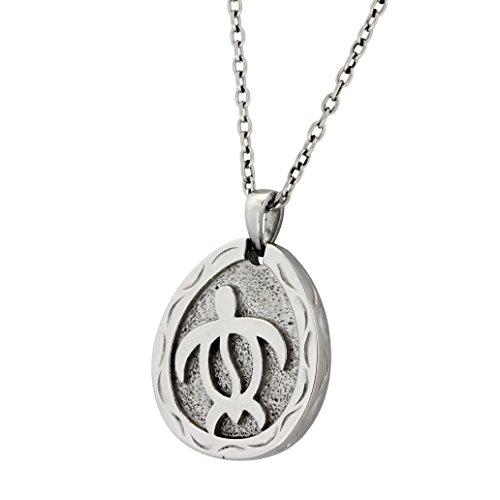 Hawaiian Jewelry by Austaras - Honu Sea Turtle Pendant - Good Luck and Protection Everywhere You Go