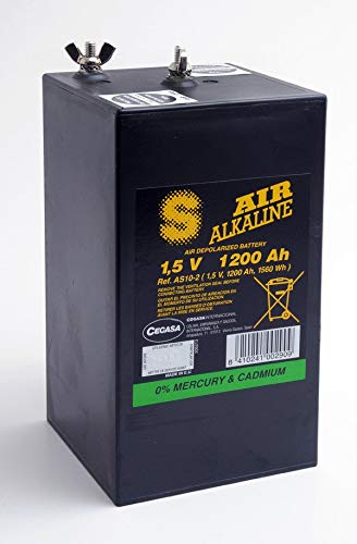Cegasa - Batterie Luftsauerstoff Alkaline AS10/2 1.5V 1200Ah