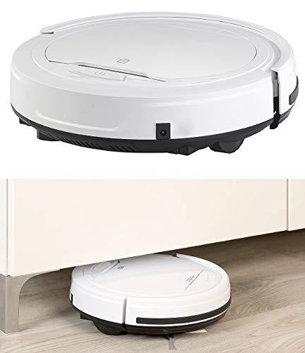 Sichler Haushaltsgeräte Staubsaugroboter: Staubsauger-Roboter mit Bürst- und Wisch-Funktion, 200 ml, Filter (Staub Roboter)