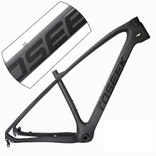 SXMXO Cuadro de MTB Full Carbon 27.5er Cadre Carbone t800 Cuadro de Bicicleta de montaña de Carbono 27.5 Cuadro de Bicicleta súper Ligero 1200G,27.5 * 19inches
