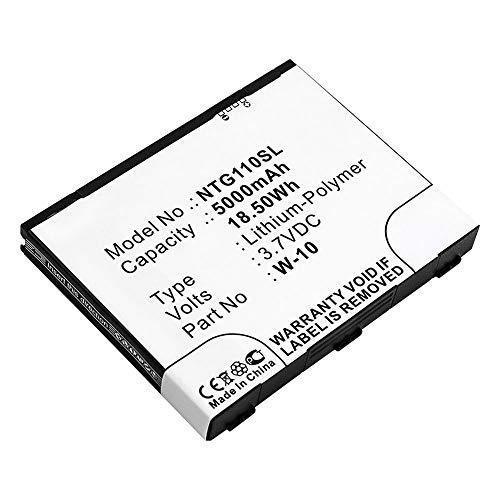 subtel® Qualitäts Akku kompatibel mit Netgear Nighthawk M1 / MR1100, W-10 5000mAh Ersatzakku Batterie