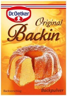 From Germany Dr. Oetker Original Backin Powder 10 pc x 16g