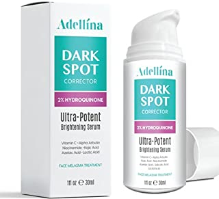 Dark Spot Corrector Serum for Face and Body, Formulated with Advanced Ingredient Dark Spot Remover for Melasma Treatment w...