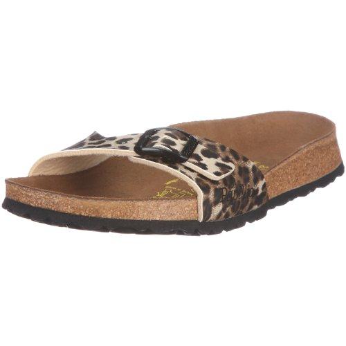 Papillio Madrid 133473, Damen Clogs & Pantoletten, Braun (leopard classic dark brown), EU 40