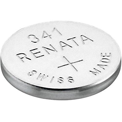 341 (SR714SW) Batteria Pulsante / Ossido D'argento 1.55V / per Orologi, Torce, Chiavi della Macchina, Calcolatrici, Macchine Fotografiche, etc / iCHOOSE