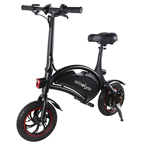 Windway Bicicleta Electrica Plegable Urbana E-Bike 36V 350W