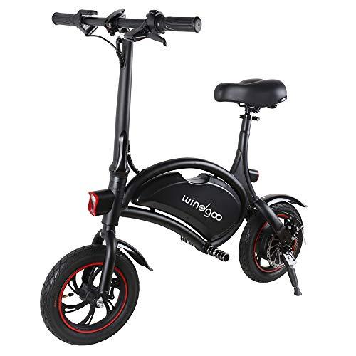 Windway Bicicleta Electrica Plegable Urbana E-Bike 36V 350W Bici Electrica