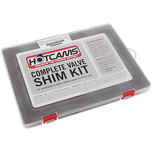 Hot Cams 9.48mm Complete Shim Kit HCSHIM02 for Arctic Cat DVX 400 ATV Honda TRX ATV Kawasaki KFX ATV Suzuki LT-R ATV Yamaha YFZ ATV, Regular