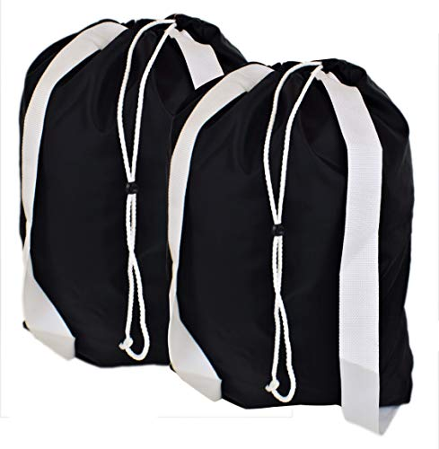 Backpack Laundry Bag with Double Durable Shoulder...