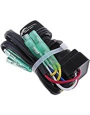 MagiDeal Interruptor de Llave de Encendido para Motor Fueraborda Yamaha 40HP 60HP, Longitud de Cable Aprox 15cm