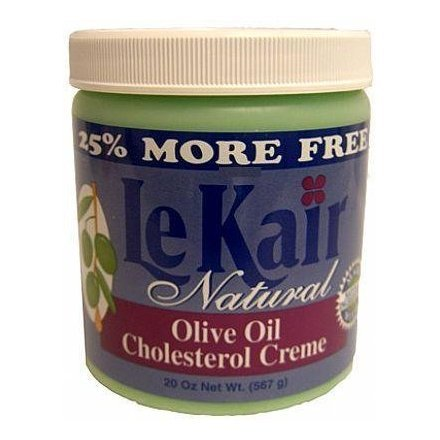 Le Kair Natural Olive Oil Cholesterol Creme 20 Oz