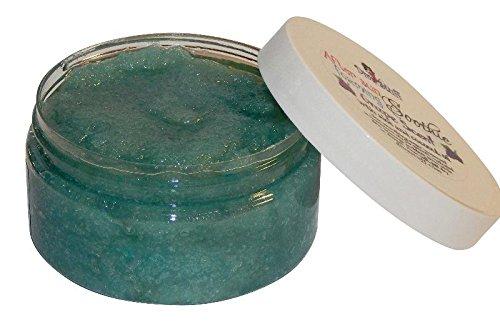 Grape Scented Foaming Skin Polishing Sugar Scrub,By Diva Stuff