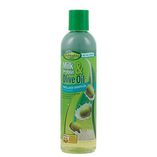 Sofn'free GroHealthy Milk Protein & Olive Oil Three-Layer Growth Oil