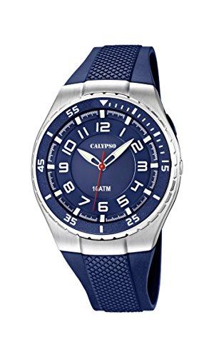 Calypso Watches Jungen-Armbanduhr Analog Quarz Plastik K6063/2