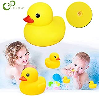Korean World Rattle Bath Toy Squeeze Animal Rubber Toy Duck Bb Bathing Water Toy Race Squeaky Yellow Duck Classic Toys Gyh Thing You Must Have 21St Birthday Gifts The Favourite DVD