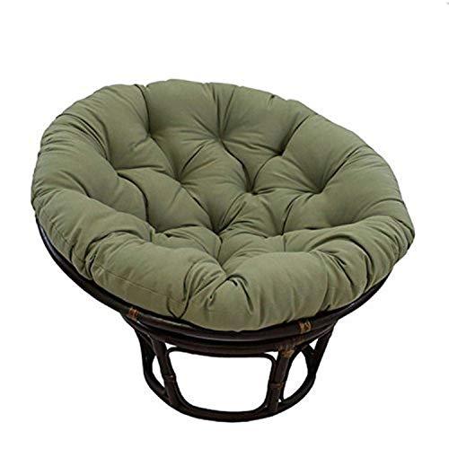 International Caravan Furniture Piece 42-Inch Rattan Papasan Chair