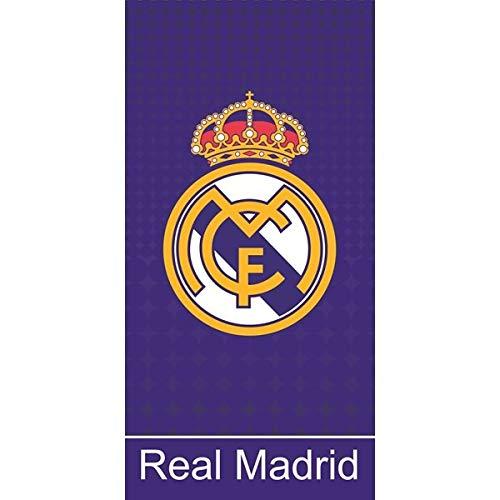 Unbekannt Real Madrid Telo Doccia Telo Mare Asciugamano 150x 75cm RM D