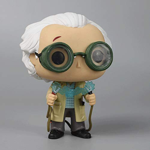 QToys Movies: Back To The Future Dr. Emmett Brown (no box) Bobblehead Figures