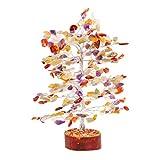 FASHIONZAADI Mix Chakra Gemstone Tree Bonsai Money...