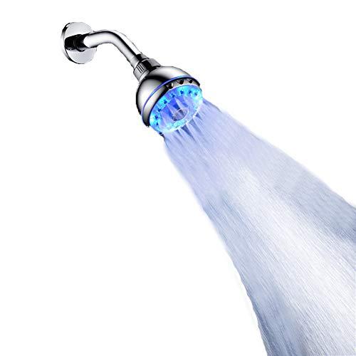 Lucky big head YY LED keuken waterkraan | waterkraan badkamer wastafel / met RGB 3 kleurveranderende verlichting waterval uitloop / kraan keukengootsteen hogedruk-wastafelarmatuur eenhandsmengkraan voor de badkamer
