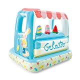 Intex Ice Cream Stand Inflatable Playhouse and Pool, for Ages 2-6