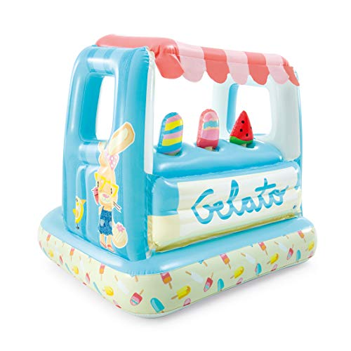 Product Image of the Intex Ice Cream Stand Inflatable Playhouse and Pool, for Ages 2-6, Multi, Model...