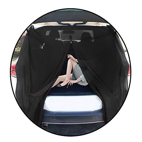 DGLIYJ Auto Moskitonetz, Auto Heckklappe Elektromagnetisches Moskitonetz Lüftungshaube, Camping, Angeln Wohnmobil, Schiebetür Vorhang (Size : 134cm)