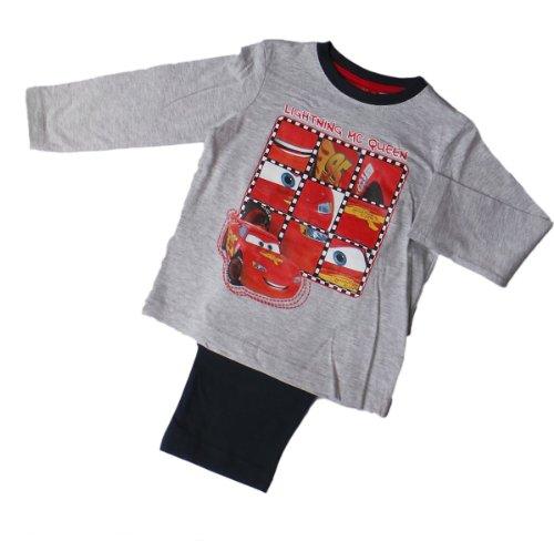 Disney Cars Schlafanzug - Lightning Mc Queen Das Puzzle - Rot/Grau/Blau