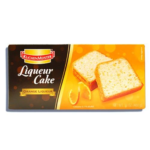 クーヘンマイスター オレンジリキュールケーキ 400g KUCHEN MEISTER ORANGE LIQUEUR CAKE