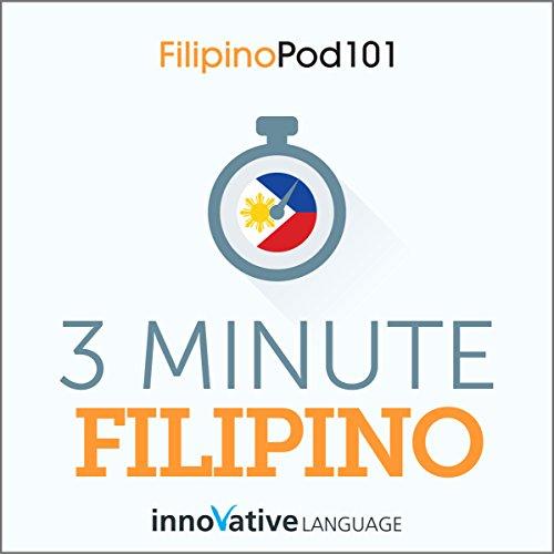 3 Minute Filipino audiobook cover art