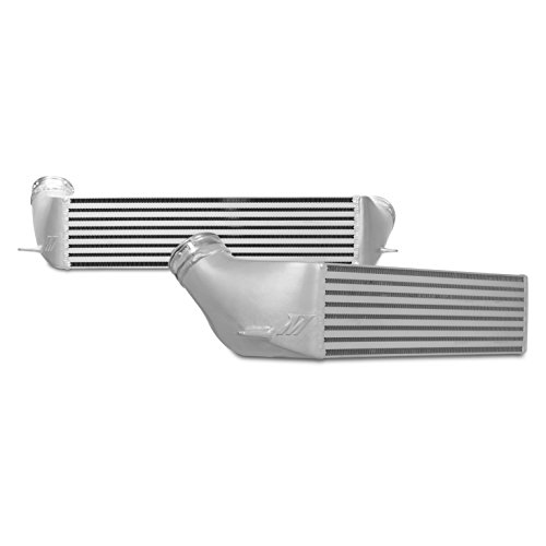Mishimoto MMINT-E90-07 Performance Intercooler Compatible With BMW 335i/335xi/135i 2007-2010 Silver