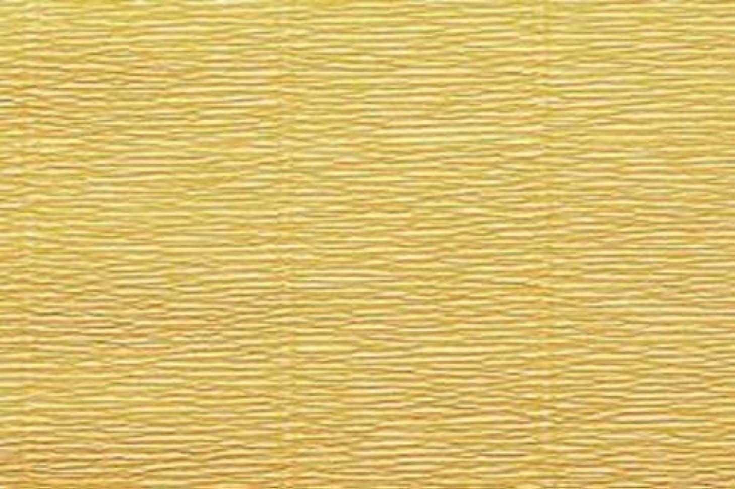 Crepe Paper Roll, Premium Heavy Italian 180 g, 13.3 sqft, Yellow Mustard