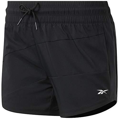 Reebok Wor Woven Shorts für Damen M Schwarz