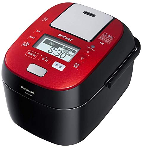 パナソニック 炊飯器 5.5合 圧力IH式 Wおどり炊き ルージュブラック SR-SPX107-RK