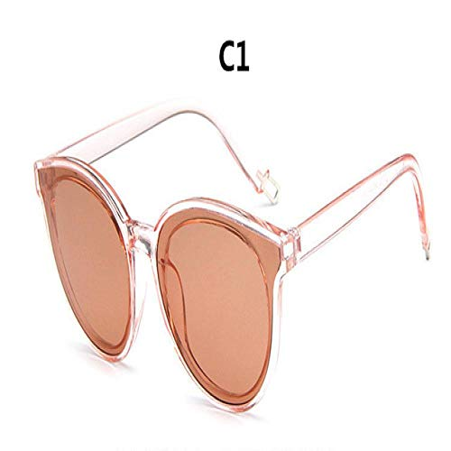 Gafas De Sol Moda Cat Eye Glasses Gafas De Sol Ladies Blue Ocean Sunglasses Ladies Ladies C1