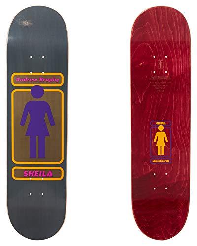 Girl Brophy 93 Til Skateboard Deck 8.25 inch Multi