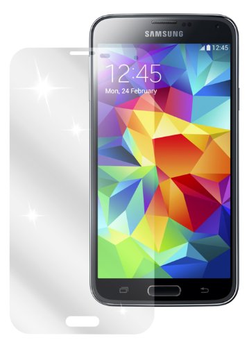 dipos I 2X Schutzfolie klar kompatibel mit Samsung Galaxy S5 / S5 Neo Folie Bildschirmschutzfolie