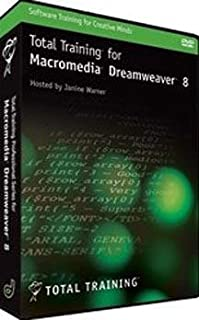 Total Training for Macromedia Dreamweaver 8 DVD-Rom (Win/Mac)