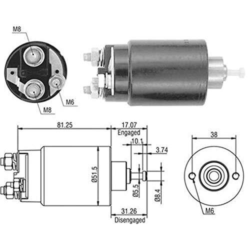 Magneti Marelli 940113050404 Magnetschalter, Starter