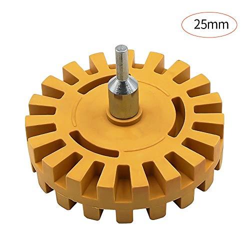 NLYWB Decal Removal Eraser Wheel Kit - 4 inch Rubber Power Boor Bevestiging Voor het verwijderen van Pinstripes, Lijm Vinyl Decals van Auto's, Rvs, Boten