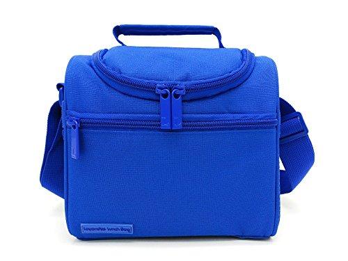 41Z433vIMhL - Leyendas Bolsa Térmica Porta Alimentos Comida Almuerzo Oferta Color Liso o con Dibujo 6 litros (Azul)