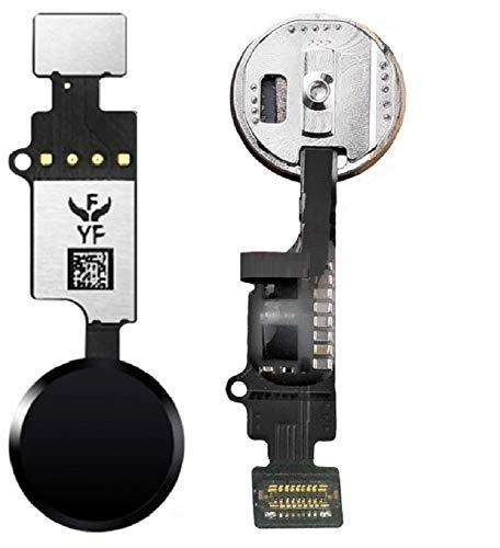 Homebutton mit Sensitive Touch Funktion, Stellt Home Button Funktion Wieder her, Finale Edition 2, für iPhone 7/7 Plus / 8/8 Plus (Schwarz)
