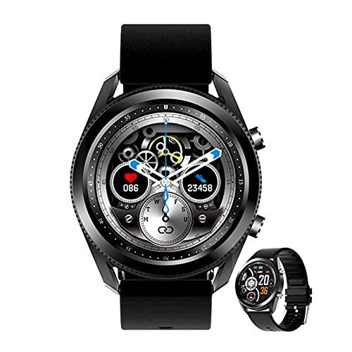 BNMY Smartwatch Reloj Inteligente Impermeable IP68 para Hombre Mujer Niños Pulsera De Actividad Inteligente con Monitor De Sueño Contador De Llamada Bluetooth para Android iOS,Negro