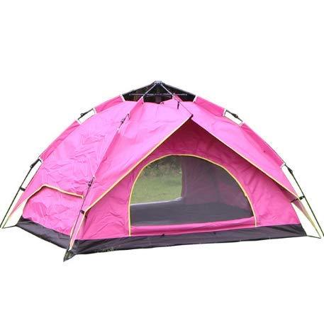 Oofay TAPS Doppel-Wanderzelt Camping im Freien, Doppel-Sport, Tourismus und Freizeit, 2 Personen, leicht zu transportieren – Blau, 03