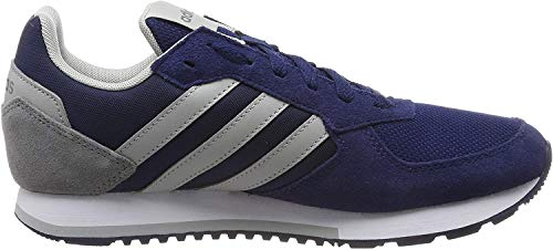 adidas Herren 8K Laufschuhe, Blau (Dark Blue/Grey Two F17/Grey Three F17), 39 EU
