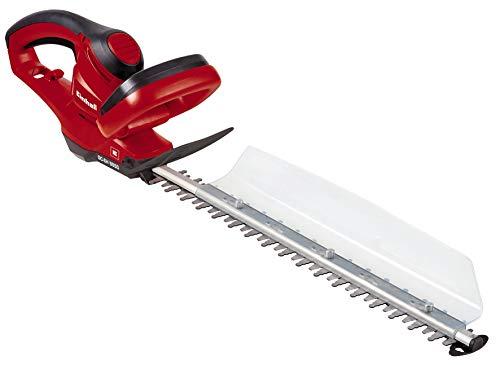einhell 3403360 Motosega per Siepi GC-Eh 5550 (Lunghezza Taglio: 500 mm, Distanza Denti: 26 mm, Sistema di Raccolta), 500 W, 230 V, Red