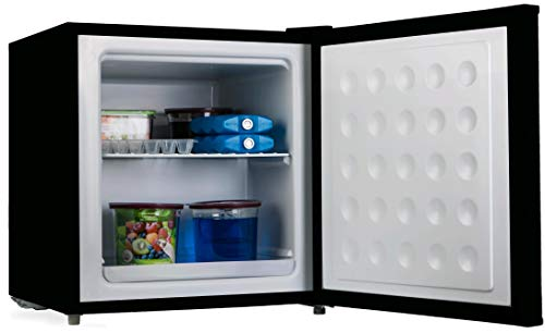PremierTech Mini Congelatore Mini Freezer Nero 32 litri -24°C gradi A++ 4**** Stelle PT-FR32B