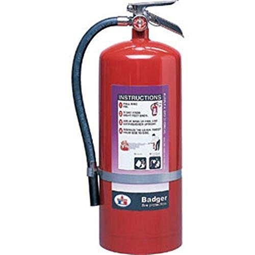 Badger Extra 20 lb Purple K Extinguisher w Wall Hook 23495 Fire Safety Detection