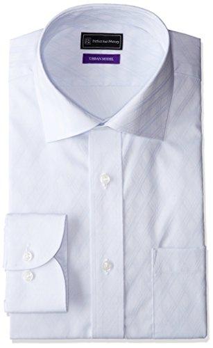 (ピーエスエフエー)P.S.FA アーバンモデル 形態安定 セミワイドカラーワイシャツ P151180029 81 サックス L(首回り41cm×裄丈84cm)